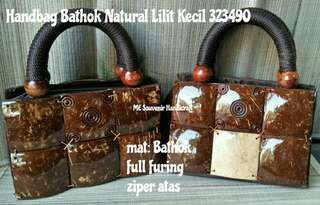 HANDBAG BATHOK NATURAL LILIT KECIL