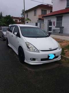 Toyota Wish 🇸🇬siap casis