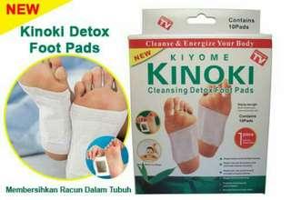 KINOKI DETOX FOOT PADS ISI 10