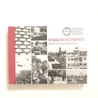 Singapore majulah moments 50 years of National Day parades postcard book