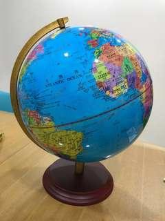 Rotating LED World Globe with box