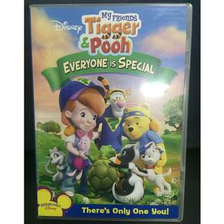 Tigger & Pooh: Everyone is Special Movie (Authentic DVD)