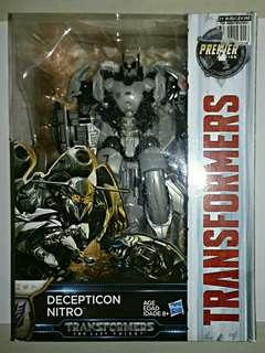 Transformers Premier Edition- DECEPTICON NITRO
