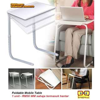 Foldable Mobile Table