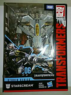 Transformers Studio Series 06- STARSCREAM