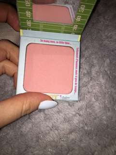 The balm blush & brow powder