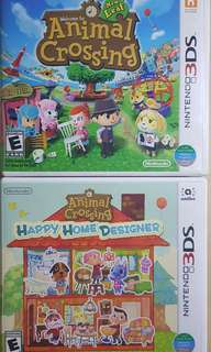 Nintendo 3ds N3ds Animal Crossing New Leaf Happy Home Designer