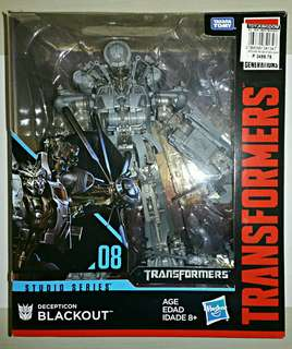 Transformer Studio Series 08- DECEPTICON BLACKOUT