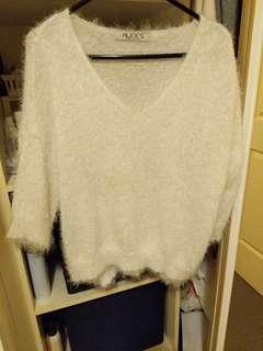 White knit wear