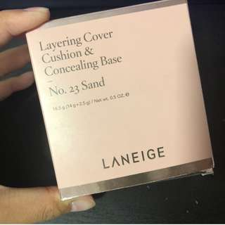 🚚 Laneige Layering Cover Cushion & Concealer Base