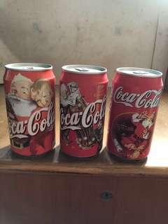 可口可樂97/98/99年聖誕節特別版