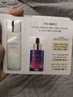3 for 100 Missha Time Revolution Set