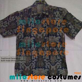RENT Racial Harmony Day Batik Peranakan Male Ethnic Costumes