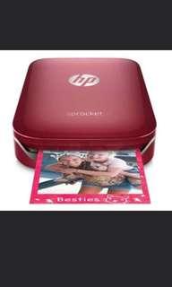 BNIB Hp sprocket 100 photo printer - Red