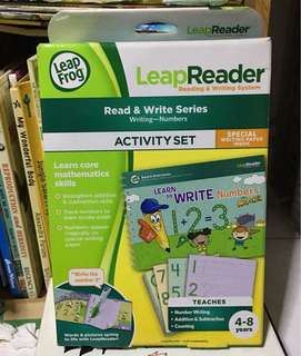 Leapfrog activity tag book - read and write activity set