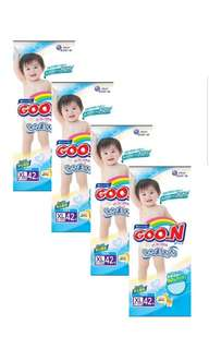 GOO.N TAPE DIAPERS XL 3pack