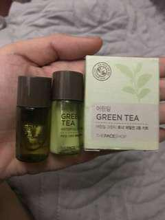 The Face Shop Greentea Set