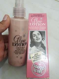 Soap & Glory glow lotion
