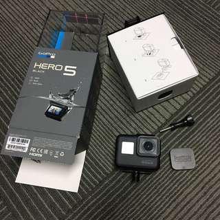 GoPro Hero 5 Black w/ warranty