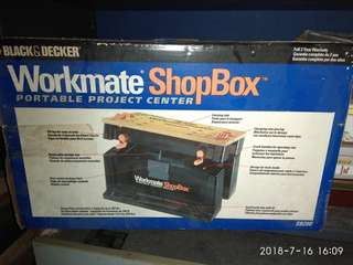 Black & Decker Workmate Shop Box