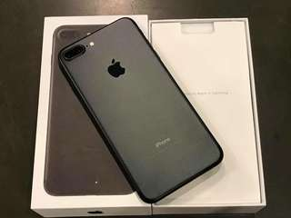 Iphone 7 plus factory unlock 128gb complete