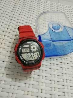 Casio jam tangan pria original