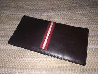 Bally bifold wallwt leather