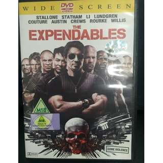 The Expendables Movie (Authentic DVD)