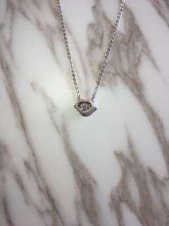 925Silver Dancing stone necklace 925 純銀 項鍊 舞動懸浮石 頸鏈 鎖骨鏈 吊咀 配飾 飾物 現貨 會跳動 項鍊