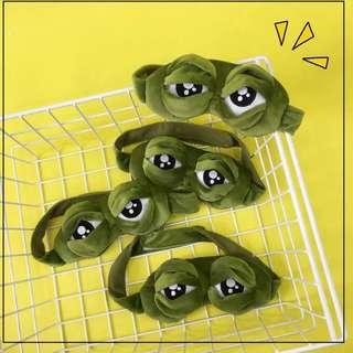 🚚 悲傷青蛙大眼睛眼罩