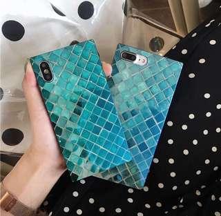 藍光仿魚鱗iPhone Case