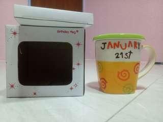 birthday mug 21 January