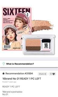 16 makeup