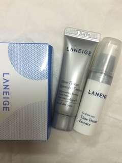 Laneige time freeze kit serum + essence