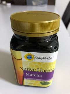 Honeyworld premium matcha honey