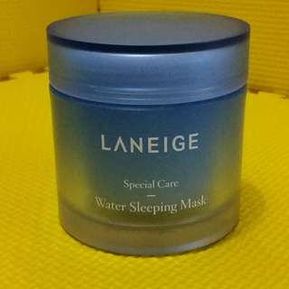 Preloved Masker - Laneige Water Sleeping Mask