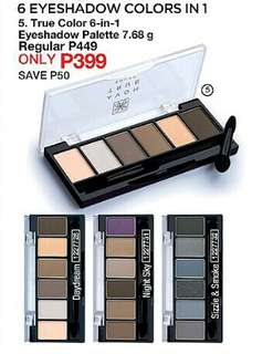 TRUE COLOR 6-IN-1 EYESHADOW PALETTE 7.68 G