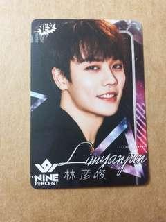 Nine Percent 林彦俊 Yes Card