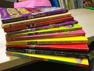 10 titles of Horrid Henry