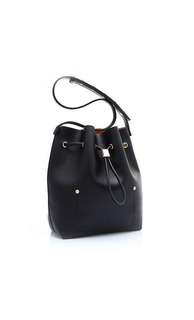 Niko Niko Bucket Bag In Black Tangy