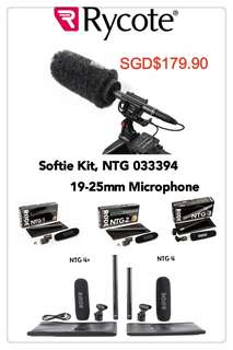 🚚 Rycote Softie Kit, NTG 033394