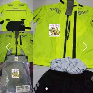 1707*** Givi Raincoat CRS02 NEON YELLOW ¤ Lighter Type ¤ 🤣🤣Thanks To All My Buyer Support 👌👌