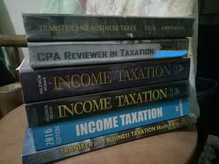Taxation Books and Reviewer
