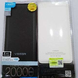 Powerbank VEGER 20000mah ORIGINAL