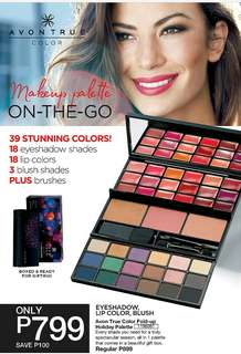 AVON TRUE COLOR FOLD-UP HOLIDAY PALETTE