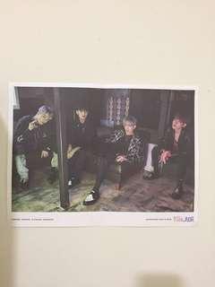 Seventeen Hip Hop Unit Folded Poster