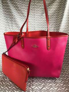 Coach New York Reversible City Tote