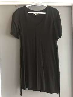 Wilfred free tie waist dress size small