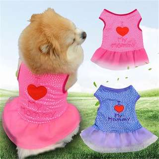 I love mommy dress for pets