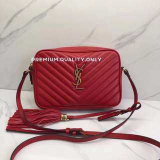 YSL Lou Monogram Sling Bag